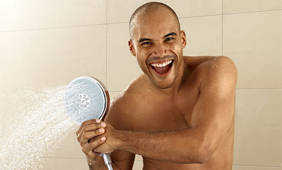 GROHE Male Model with Showerhead