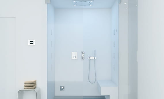 GROHE Shower Light Blue Hue