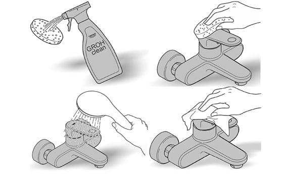 guide sur la façon de nettoyer les robinets en laiton