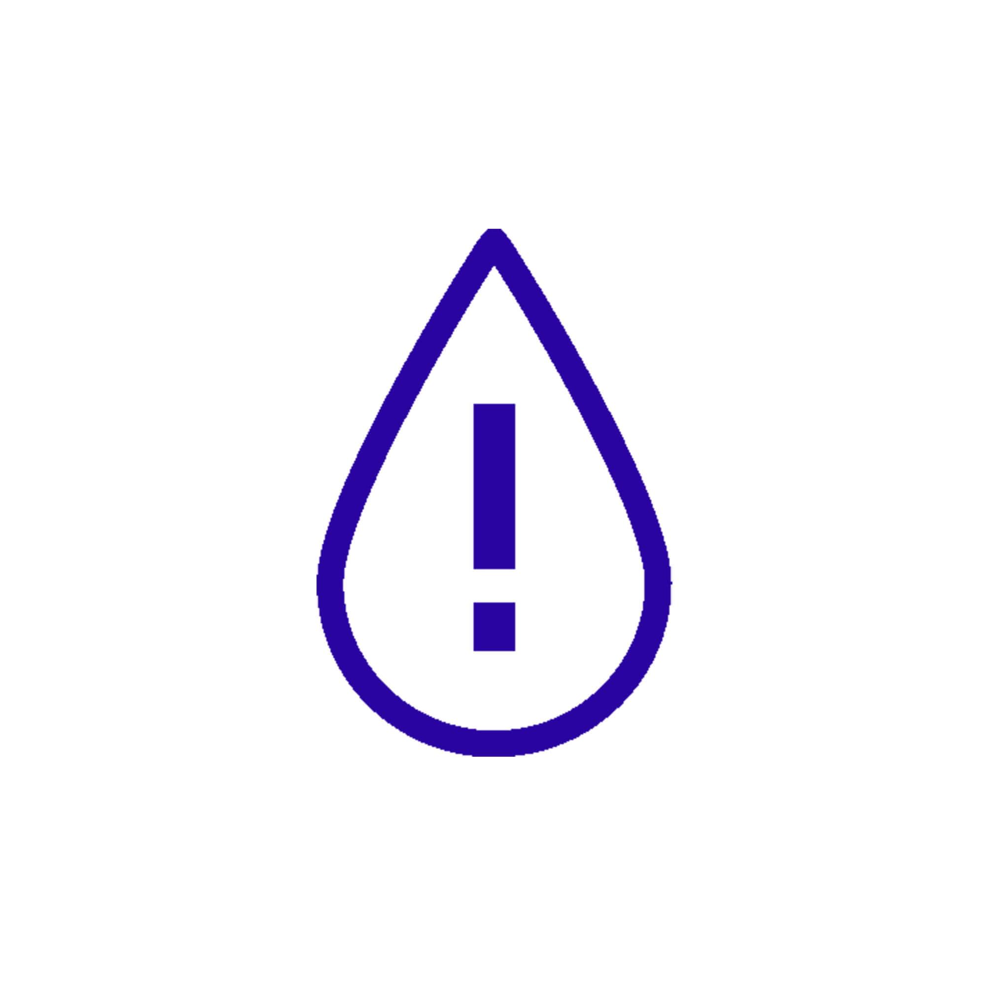 aqua alarm icon