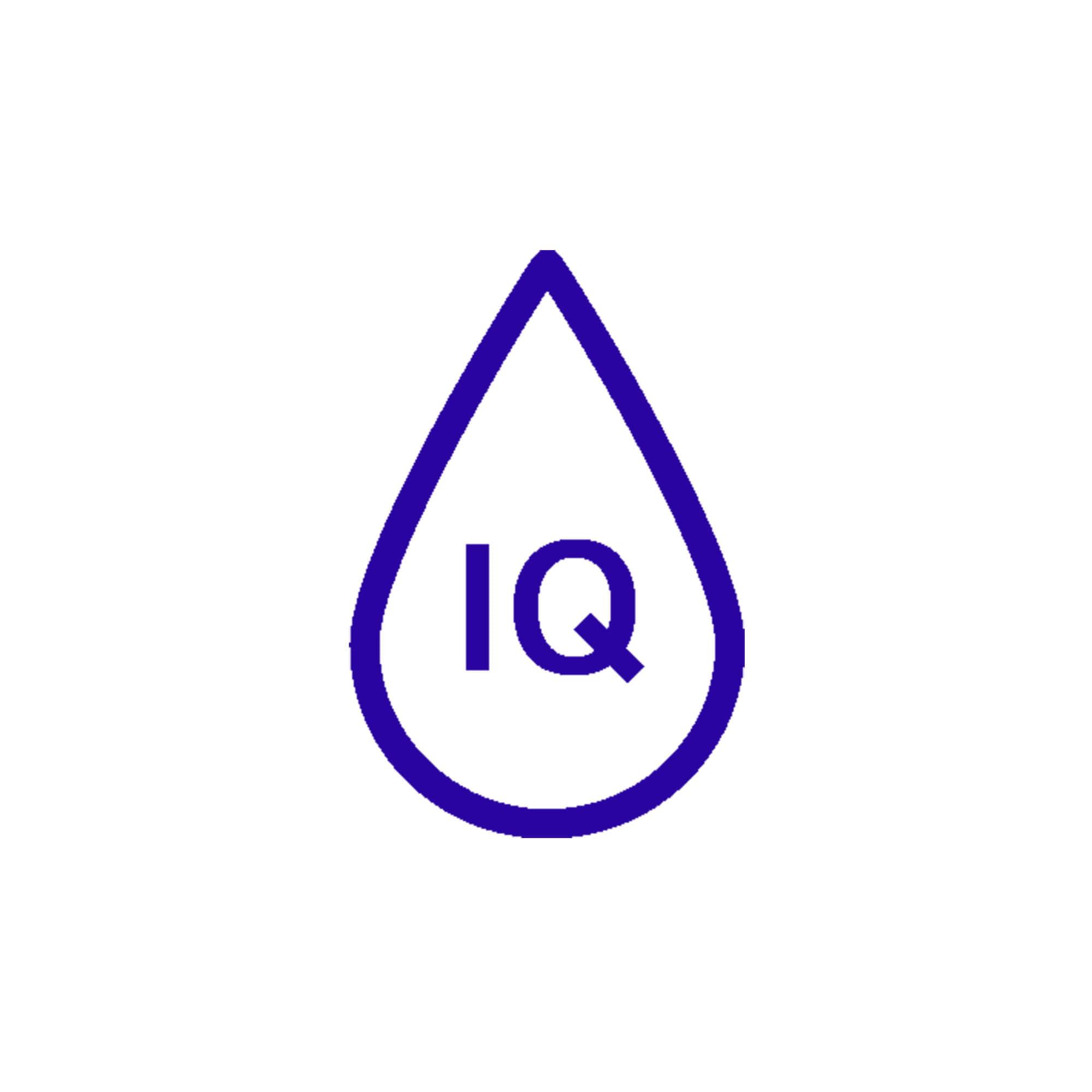 IQ aqua alarm icon