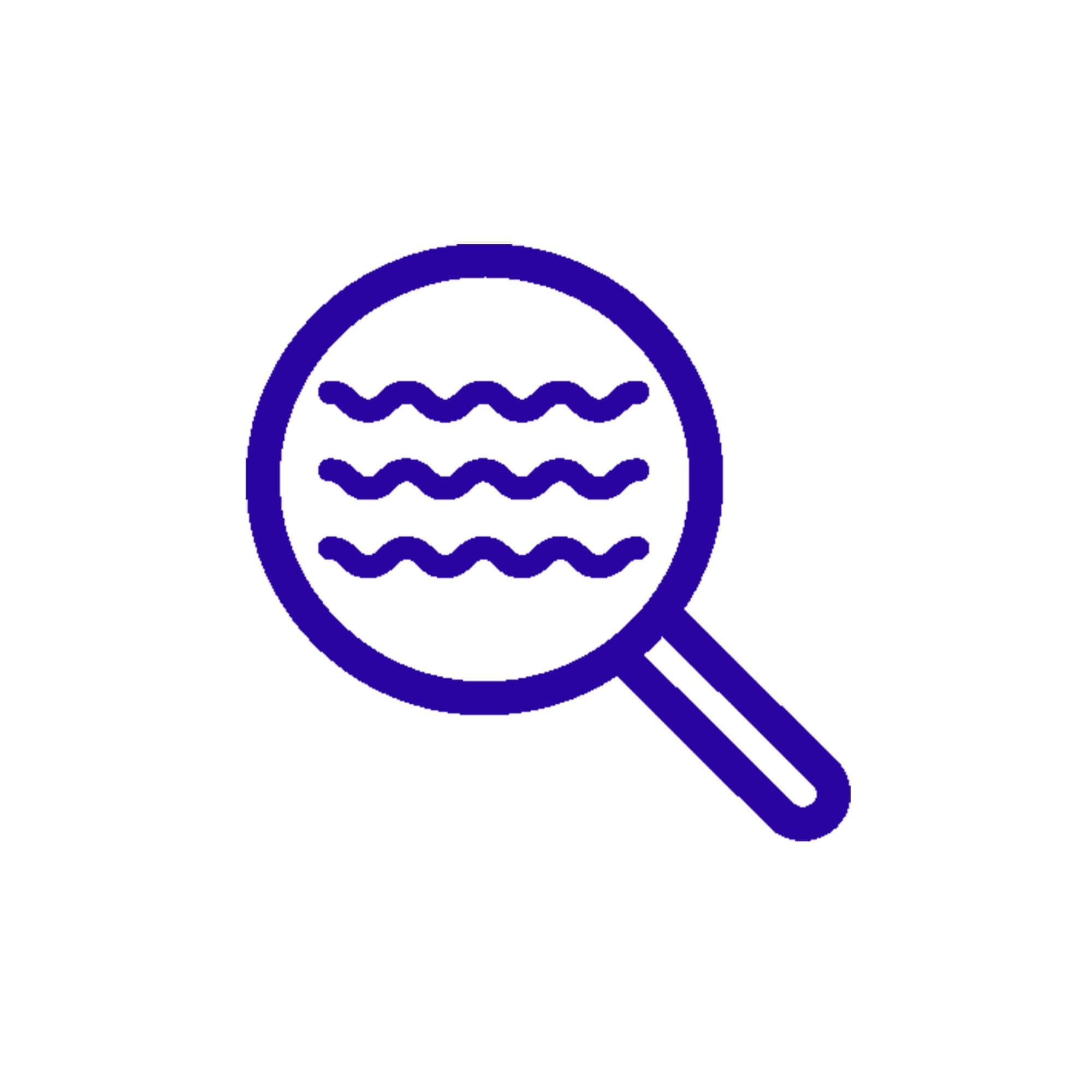 icône de détection d'inondation