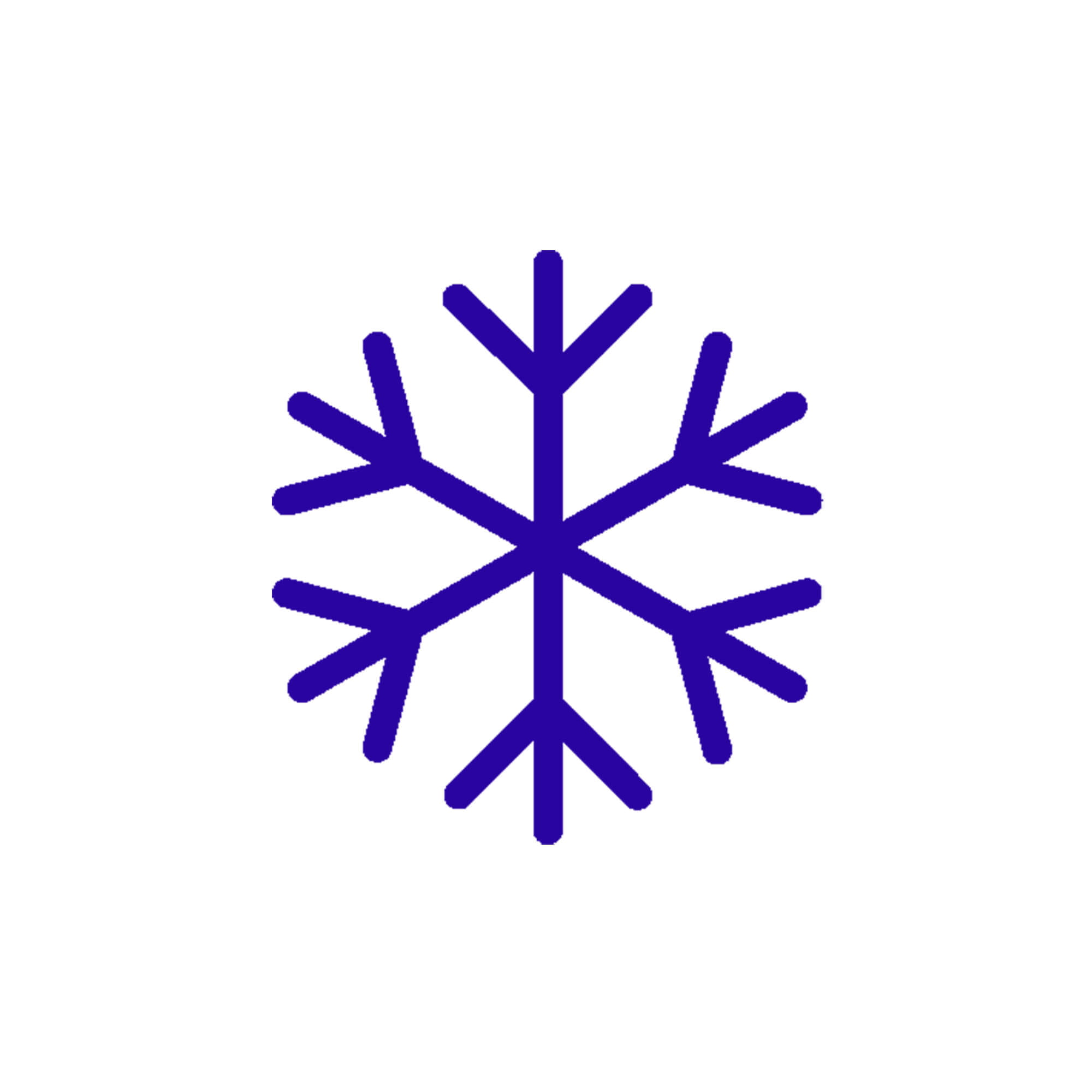 icône de risque de gel