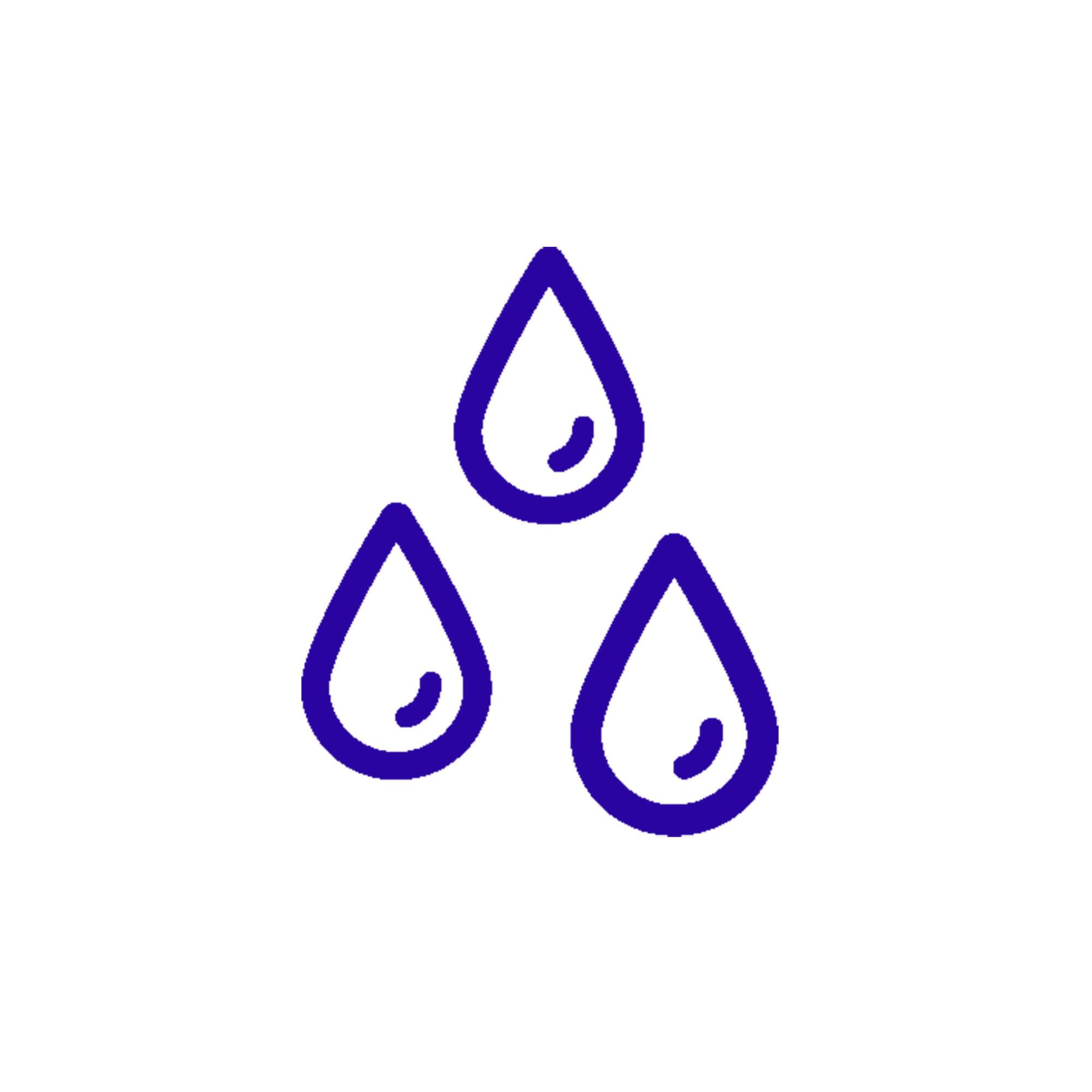 icône de détection d'humidité