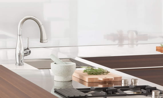 GROHE Parkfield Faucet Beauty Shot Kitchen