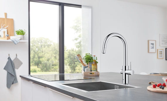 GROHE Blue Kitchen Faucet