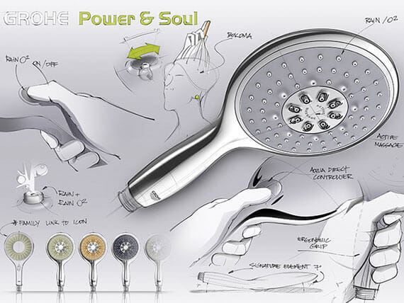power and soul shower head
