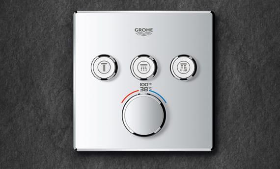 GROHE SmartControl garniture carrée
